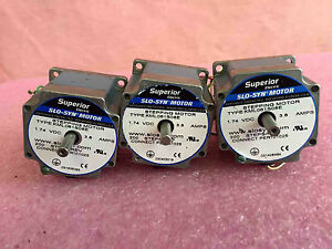 Superior Electric Slo syn Step Motor Kml061s08e Stepping Motor 1 74 V Lot Of 3