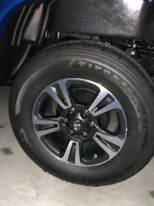 2018 Toyota Tacoma Oem Tires And Rims set Of 4
