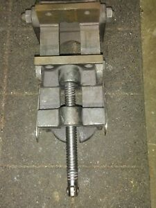 Heavy Duty 6 Milling Machine Vise For Mill Bridgeport Adjustable