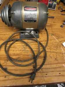 1951 Craftsman 1 2 Hp Motor Model 1156962 1750 Rpm 60 Cycle 8 2 Amps Drill Press