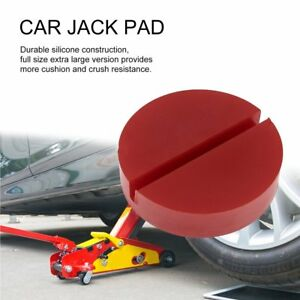 Portable Universal Car Slotted Frame Rail Silicone Car Jack Pad Lift Cushion