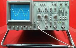 Tektronix 2245a 100 Mhz 4 Channel Dual Time Base Oscilloscope Sn b023725