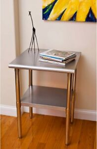 Trinity Ecostorage Stainless Steel Table 24 X 24 X 35 And Rdquo Nsf