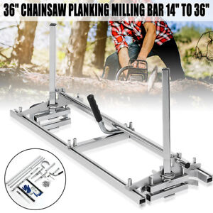 Chain Saw Mill 36 Chainsaw Guide Bar 14 To 36 Planking Lumber Cutting