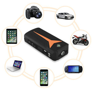 Floureon 16800mah Auto Car Motorcycle Jump Starter Pack Booster Battery Charger