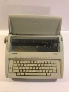 Brother Ml 100 Electric Typewriter Standard Works