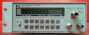 Hp Agilent Keysight 5386a 004 3 Ghz Frequency Counter
