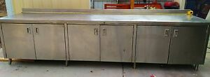 Used 36 X 144 Stainless Steel Work Table
