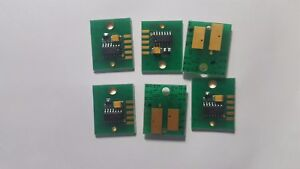 Us Located 6 set Chip Permanent For Mimaki Jv3 Ss2 Cartridge C M Y K Lc Lm