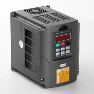New 2 2kw 3hp Vfd 10a 110v Single Phase Variable Speed Drive Vsd Drive Inverter