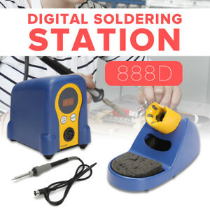 Fx 888d Digital Thermostatic Soldering Station Solder Iron Welder With Stand