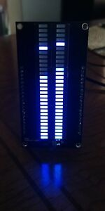 Audio Vu Meter 30x2 Or 60x2 Led Stereo Or Mono Default Or Custom Modes