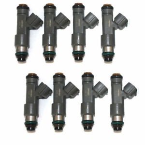 Fit For Nissan Titan Armada 2004 2008 V8 Set 8 Oem 16600 Zh00a Fuel Injectors