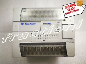 same Day Shipping Used Micrologix Controller 1762 l24bwa 2 year Warranty