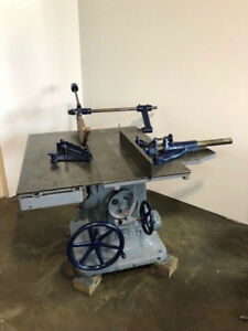 Oliver Table Saw Woodworking Vintage Sliding Table Machine Machinery Pattern