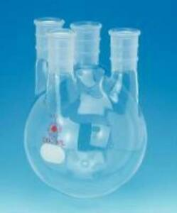 Ace Glass 6952 96 Round Bottom Flask 72 Liter W Four Veritcial Slide Neck 40 50