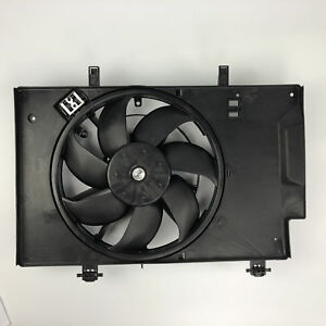Fits For Ford Fiesta 2011 2018 Radiator Ac A C Condenser Cooling Fan Fo3115186
