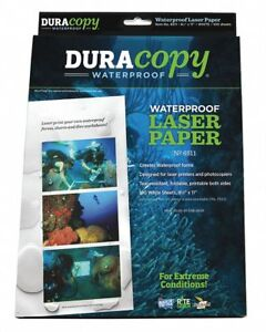 Rite In The Rain 8 1 2 X 11 Waterproof Laser Paper With Glossy Finish Pk100