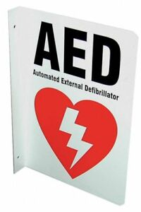 Defibtech First Aid Plastic 10 X 7 With Mounting Holes L shaped Dac 231