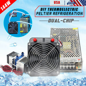 Tec1 12706 Thermoelectric Peltier Refrigeration Cooler Water Cooling System Kit
