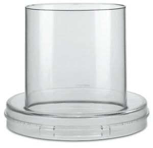 Waring Commercial Fp253 Food Processor Batch Bowl Cover With Feed Chute New