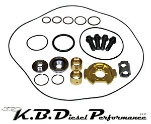 Turbo Rebuild Kit With 360 Thrust 6 6l 2007 2016 Lmm Lml Chevy Gmc Duramax