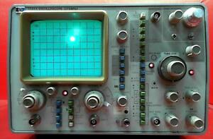 Hp Agilent Keysight 1725a Oscilloscope 275mhz
