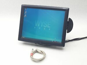 Elo Touchsystems Mpr Ii 15 Touchscreen Monitor Pos Credit Card Display Et1529l