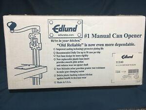 Edlund No 1 Commercial Can Opener In Box For Restaurants Foodservice