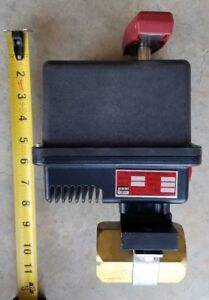 Gemini Valve Electric Actuator Model 630 Brass Ball Valve