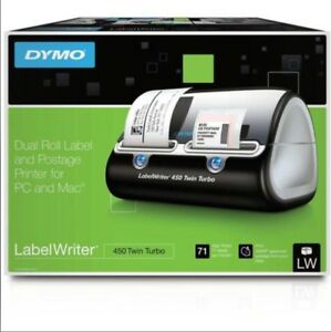Dymo Label Writer 450 Twin Turbo Laser Label Printer Original Package 1752266