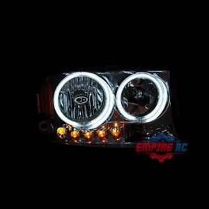 1997 2004 Dodge Dakota 1998 2003 Dodge Durango Ccfl Halo Led Black Headlights