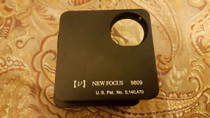 New Focus 9809 Classic Corner Mirror Mount 1 0 In With Thumbwheels