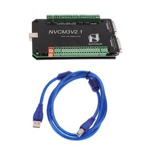 3 Axis Cnc Breakout Board For Stepper Motor Driver Controller With Usb Cable
