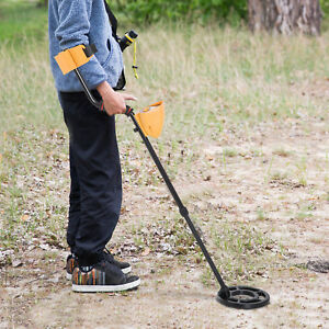 Metal Detector Water resistant Search Coil Lightweight Gold Digger Treasure Lcd