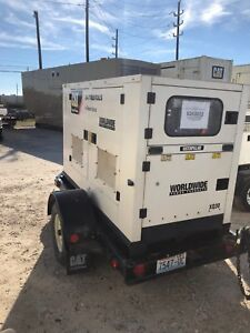 Caterpillar Xq30 Portable Generator Set