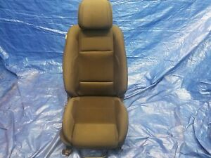 13 14 Ford Mustang Convertible Passenger Rh Right Front Seat Black Cloth Manual