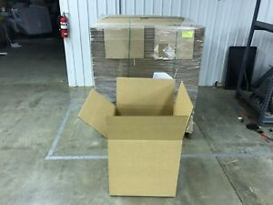 Pallet Lot Of 90 22 X 22 X 22 275 Lb Double Wall Corrugated Shipping Boxes