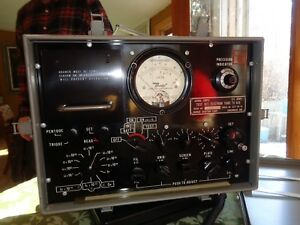 Vintage Bendix Us Army Signal Corp Precision Tube Tester Tv 6 u Military