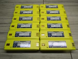 Lot Of 12 Cardiac Science Powerheart Aed G3 Battery 9146 102 Tested