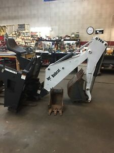 Bobcat Backhoe Attachment Model 709 Excellent Condition