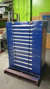 11 Drawer 59x45x28 Vidmar All Cabinets Are Fully Refurbished