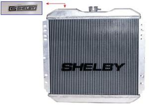 Mustang Shelby Aluminum Radiator 1965 1966 289 302 With Auto Transmission