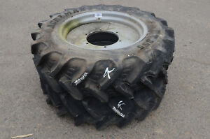 Set Of 2 Tires Wheels Agrimax 280 85 R24 Tubeless K
