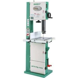 G0817 Super Heavy duty 14 Resaw Bandsaw With Foot Brake