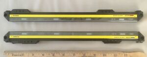 Keyence Safety Light Curtain Transmitter Receiver Set Gl s16fh t And Gl s16fh r
