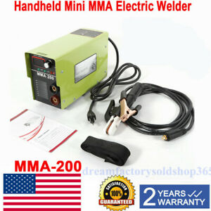 20 120 A Mini Welder Mma Arc Welding Machine Dc Igbt Soldering Inverter Mma 200