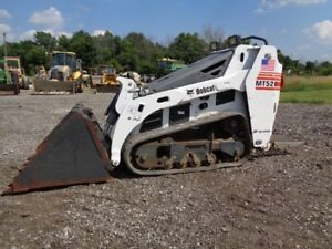 2007 Bobcat Mt52 Stand On Skid Steer