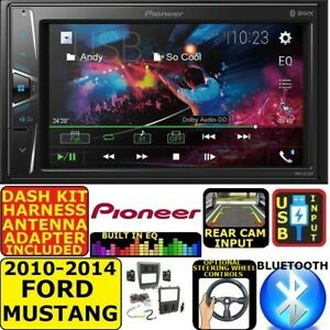 2010 2014 Ford Mustang Pioneer Am Fm Bluetooth Usb Aux Car Radio Stereo
