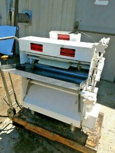 Acme Mr11 Commercial Pizza Dough Roller Double Pass Counter top Sheeter Machine